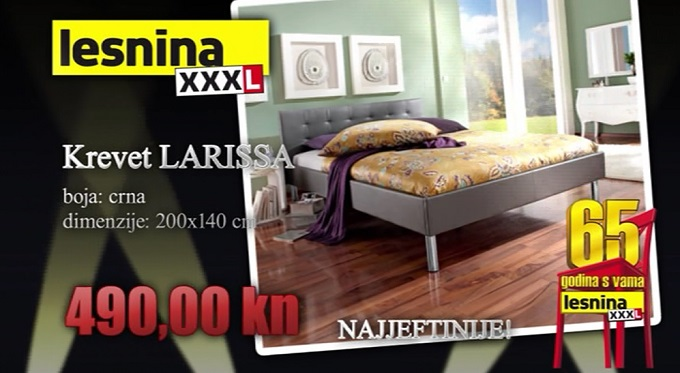 tapecirani krevet Larissa