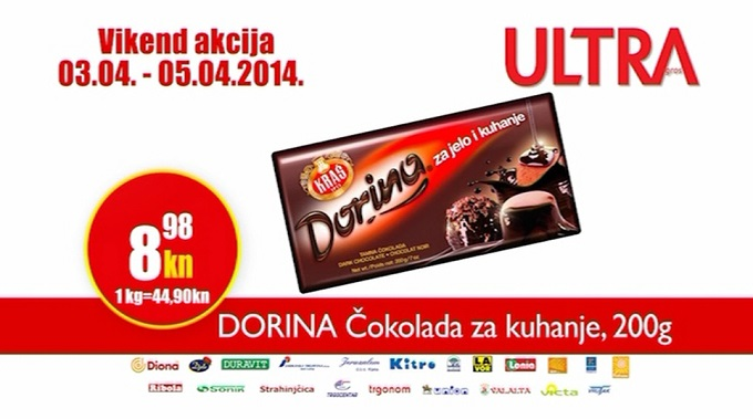 Ultra Gros čokolada
