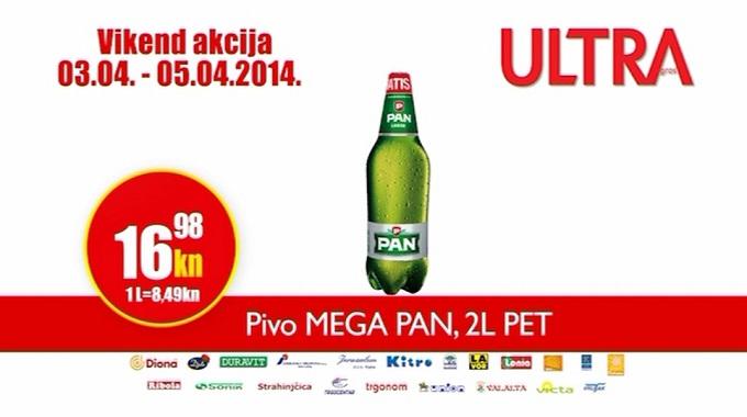 Ultra Gros Pivo Pan