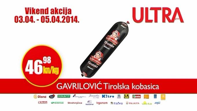Ultra Gros Tirloska kobasica