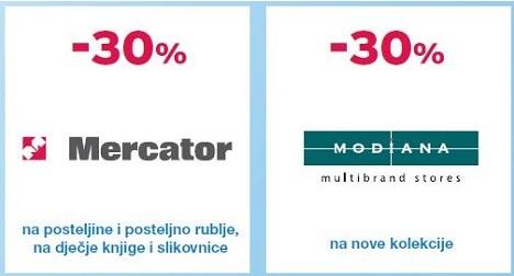 Mercator Modiana akcija