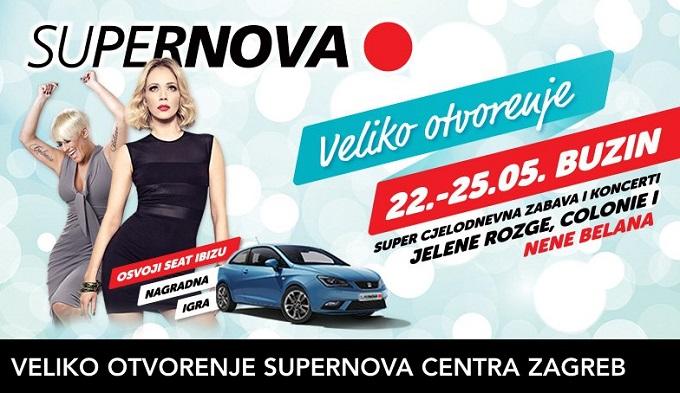 Supernova Zagreb otvorenje