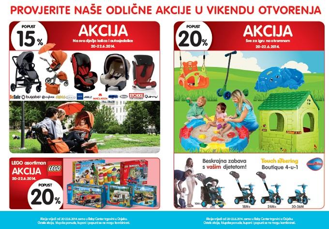 Baby center Osijek akcija