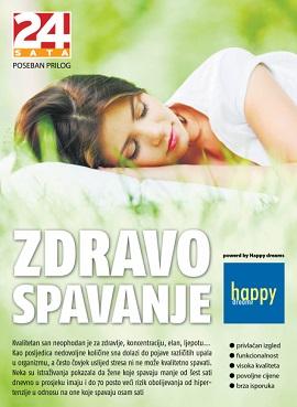 Happy Dreams zdravo spavanje