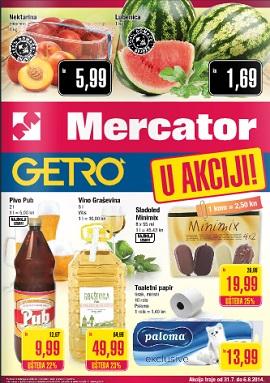 Mercator i Getro katalog