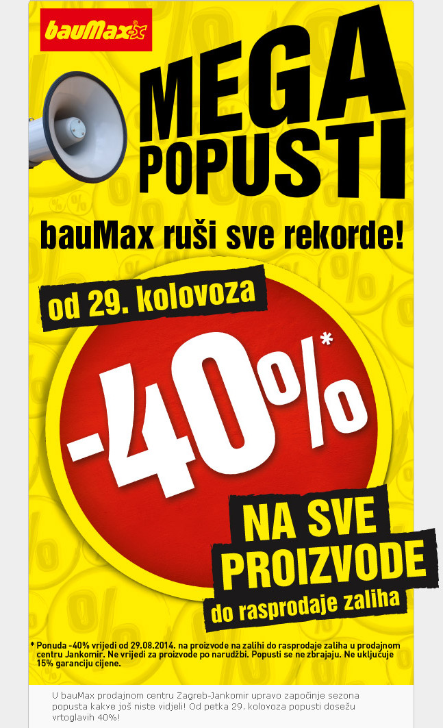 Baumax popust