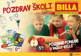 Billa katalog škola