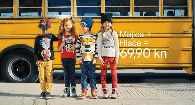 H&M djeca škola 2014
