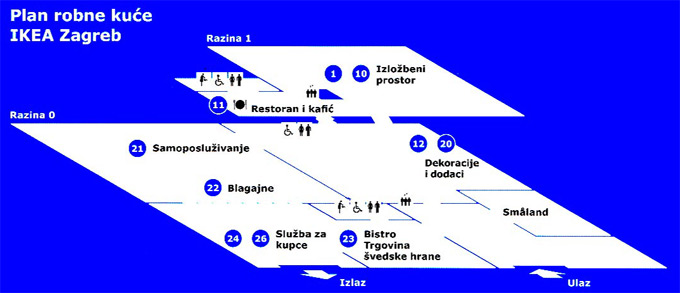 IKEA plan robne kuće Zagreb