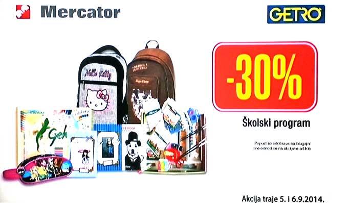 Mercator Getro vikend akcija
