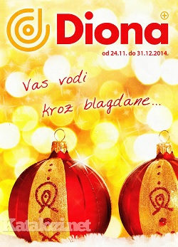 Diona katalog Božić 2014