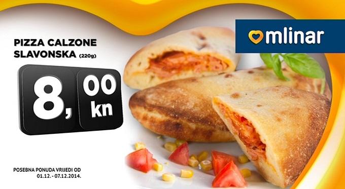 Pizza Calzone Slavonska