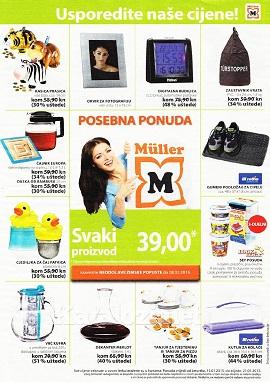 Muller katalog kućanstvo