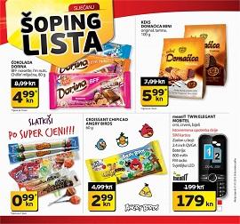 Tisak shoping lista