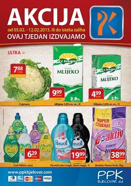 PPK Bjelovar katalog tjedna akcija