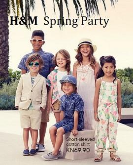 h&m katalog proljeće djeca