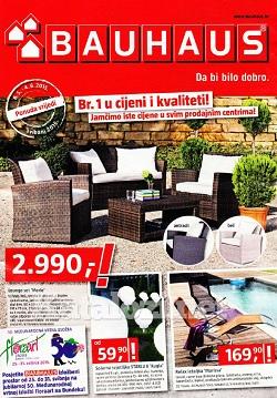 bauhaus katalog svibanj 2015. Black Bedroom Furniture Sets. Home Design Ideas