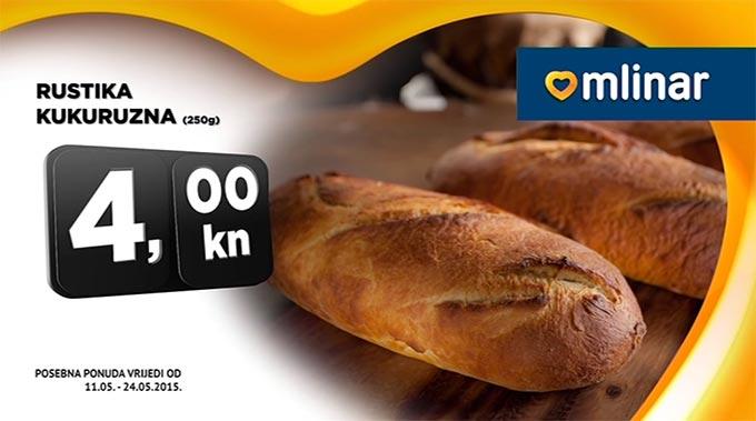 Kruh Kukuruzna Rustika