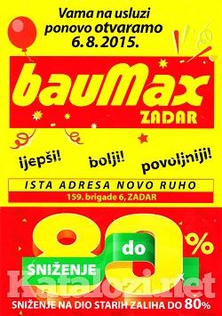 Baumax Zadar otvorenje