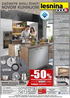 Lesnina katalog kuhinje