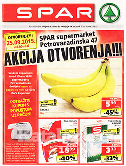 Spar katalog Petrovaradinska Zagreb