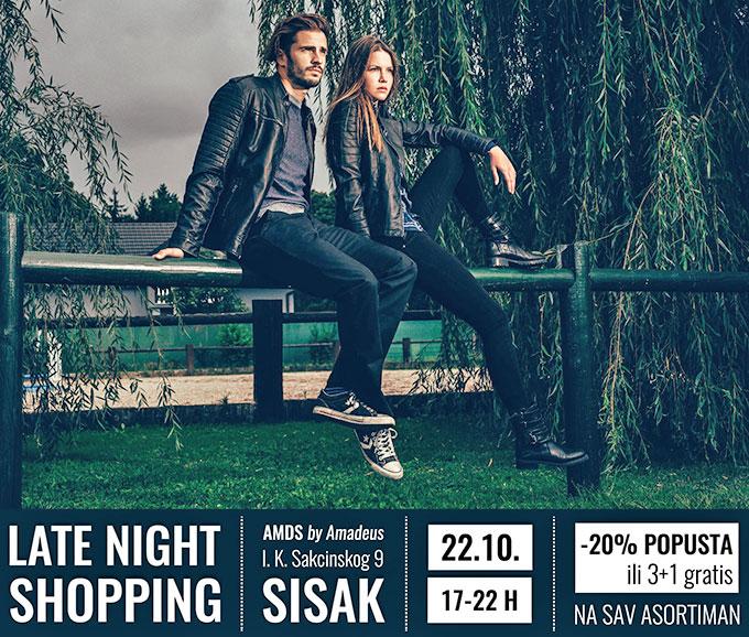Amadeus Sisak noćni shopping