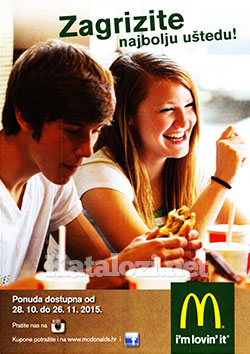 McDonalds kuponi