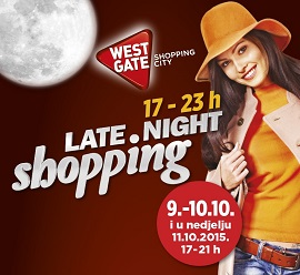 West Gate noćni shopping