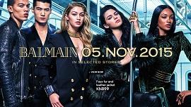 H&M katalog Balmain