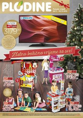 Plodine katalog božićno vrijeme