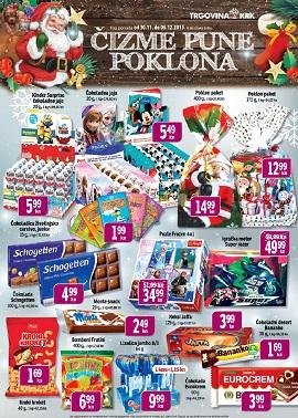 Trgovina Krk katalog slatkiši