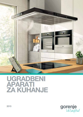 Gorenje katalog ugradbeni aparati kuhanje