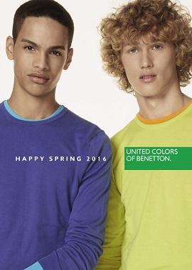 Benetton katalog proljeće muškarci