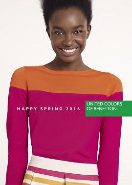 Benetton katalog proljeće žene