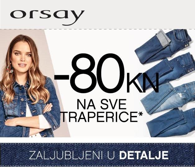 Orsay 80 kuna popust traperice