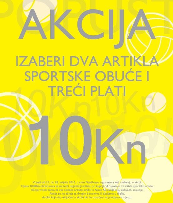 Pittarosso akcija sportska obuca