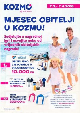 Kozmo katalog mjesec obitelji