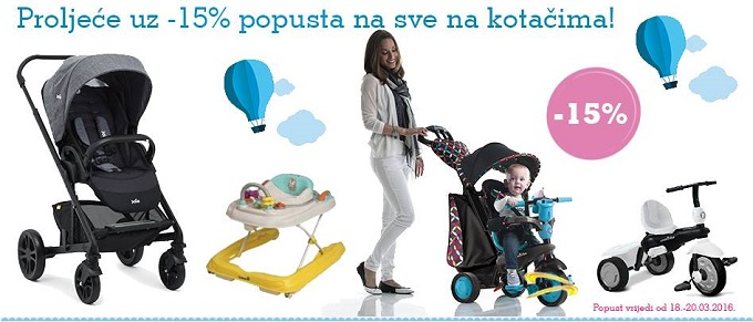 Magic Baby popust kolica tricikli