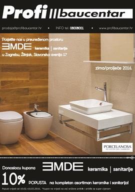 Profi Baucentar katalog sanitarije