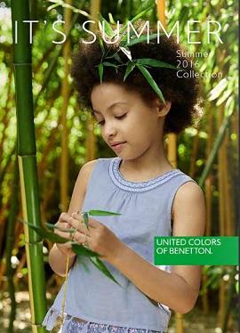 Benetton katalog djeca ljeto
