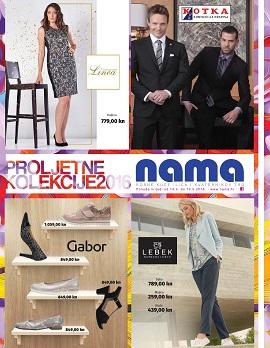 Nama katalog Proljetne kolekcije