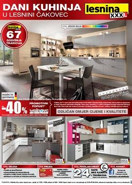 Lesnina katalog Čakovec kuhinje