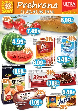 Prehrana trgovine katalog