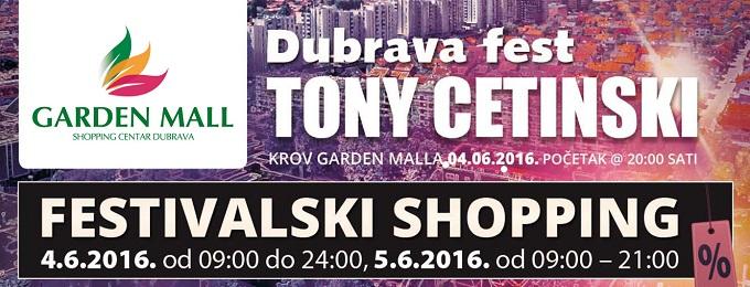 Garden Mall Dubrava fest