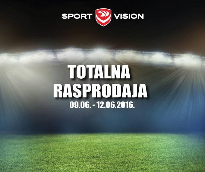 Sport Vision totalna rasprodaja Velesajam
