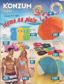Konzum katalog plaža