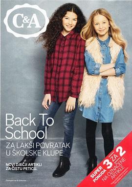 C&A katalog škola