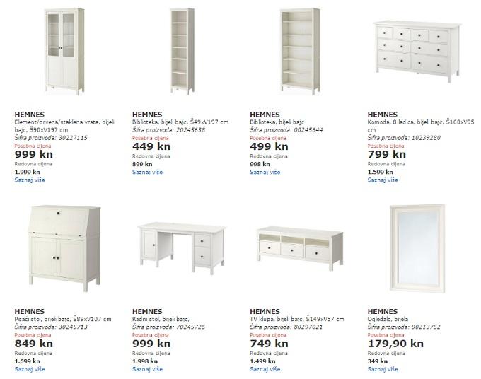 Ikea komode akcija
