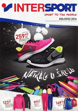 Intersport katalog Natrag u školu