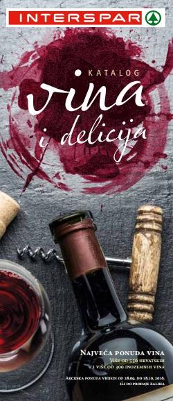 Interspar katalog vina i delicija